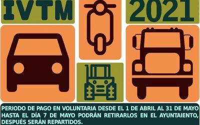 Recibos de IVTM 2021(Impuesto de Vehículos)