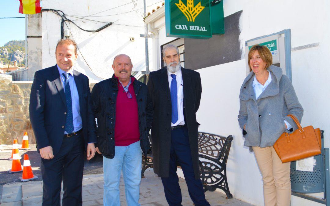 """Inauguración del Cajero Automático """"Caja Rural de Granada"""""""