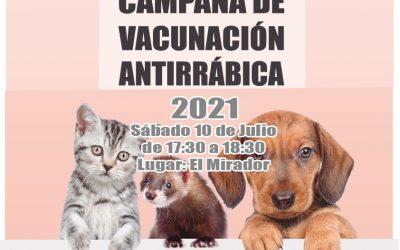 Campaña Vacunación Antirrábica 2021